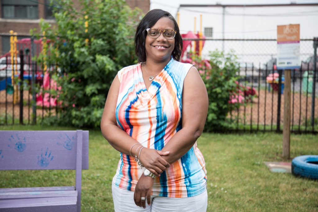 Portrait of Head Start director Rhonda Mallory-Burns