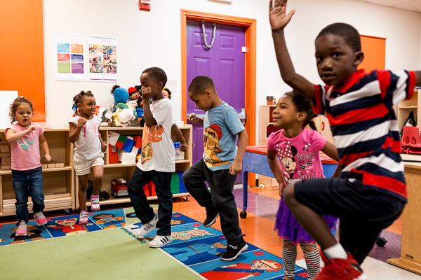 Kids at Development Centers' Winston Head Start - Photo by Nick Hagen for Model D